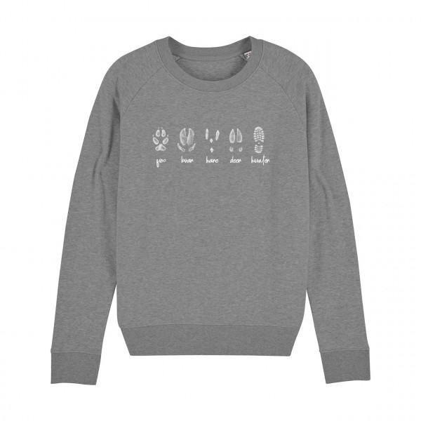 BLANDSKOG #Footprints Damen-Sweatshirt