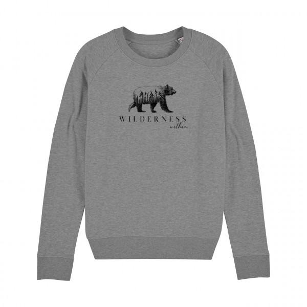 BLANDSKOG #Wilderness Damen-Sweatshirt