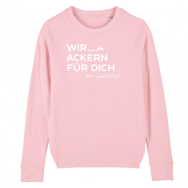 #WirAckern Damen-Sweatshirt