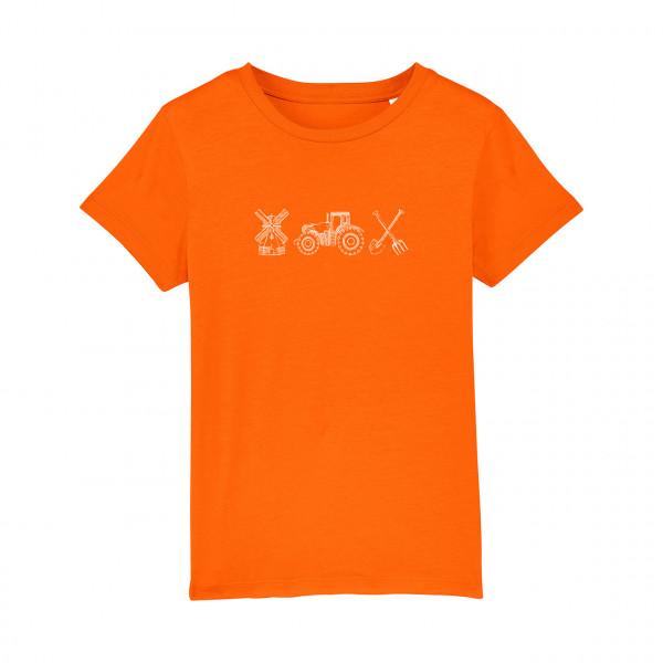 #Farmlife Kindershirt